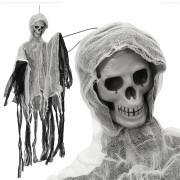 Spooky Halloween Party Decoration Hanging Skeleton Haunted Ghost Pendant Horrid Scare Toys Props