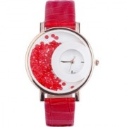 Mxre Diamond Dial Red fancy women watches by 7Star