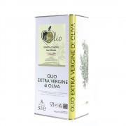 Che Olio 2 latte da 5 lt di olio extravergine d'oliva estratto a freddo e non filtrato