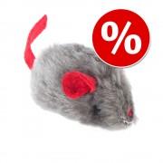 Ratón de juguete con catnip para gatos - 1 unidad
