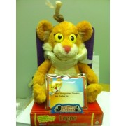 Leona Lion - From PBSs Between The Lions - Leona with Designated Reader Cards and Badge