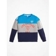 Guess Sweater Met Logo Op De Voorkant - Blauw multi - Size: 8