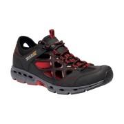 Regatta Mens Samaris Crosstrek Open Cell Walking Shoes - Black - Size: 10