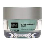 Gf vital-age creme noite todos os tipos de pele 50ml - Martiderm