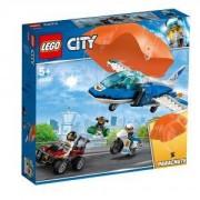 Конструктор Лего Сити - Полиция в небето – арест с парашут - LEGO City, 60208