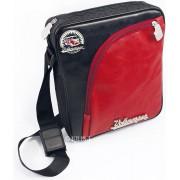 VW T1 Bus Tablet-PC Tas met Bandenprofiel - Vintage Logo/rood&zwart