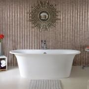 Vasca da bagno freestanding Monaco 174x62 cm bianco