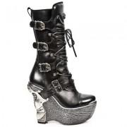 cizme cu platformă femei - NEW ROCK - M.PZ003-S4