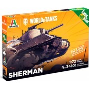Italeri 34101 - 1 72 SHERMAN - World of Tanks - Easy to Build