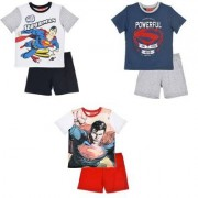 Superman DC Comics Superman set Shorts och T-shirt barn (Vit-Svart, 8 ÅR - 128 CM)
