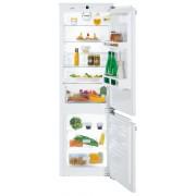 Combină frigorifică încorporabilă Liebherr ICU 3324, 274 L, SmartFrost, Siguranţă copii, SuperFrost, Iluminare cu LED, Display, Control taste, H 178 cm, Clasa A++