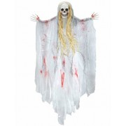 Decoração fantasma ensenguantado Halloween