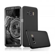 Husa Samsung S8 Full Cover 360 plastic - Negru