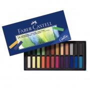 Creioane color Pastel Soft 12 culori Faber-Castell