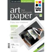 Nažehľovací papier na tmavý textil A4 5 ks 120g/m2