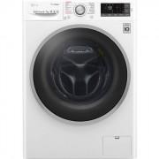 LG Washing machine koos dryer F4J7TH1W Front loading, Washing capacity 8 kg