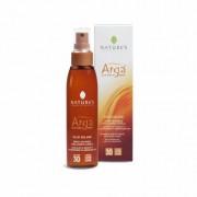 NATURE'S Olio solare spray invisibile viso-corpo-capelli spf 30 - Linea Argà - 150ml
