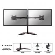 """Newstar - NM-D335DBLACK 27"""" Abrazadera Negro soporte de mesa para pantalla plana"""