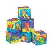 Set cuburi constructie Playgro Animale Acvatice
