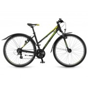 Winora Belize women 28'' 24-Sp Altus - 17/18 Winora black/green/lime matt - Mountain Bikes 41