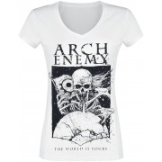 Arch Enemy The World Is Yours Damen-T-Shirt - Offizielles Merchandise