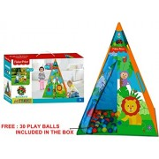 TOY-STATION - FISHER PRICE - INDIAN PLAY TENT - multi colour