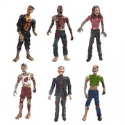 C2K Plastic Walking Corpses Doll Movie Characters Action Zombie Figures Toy for Collection