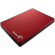 Seagate Disco Duro Portátil 1 TB SEAGATE Backup Plus Slim Rojo