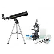 Set pentru copii Telescop + Microscop National Geographic Second Hand