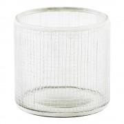 House Doctor Check Ljushållare Glas 7,5 cm