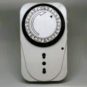 Luci Da Esterno Timer meccanico settimanale programmabile Max 3500W