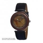 Earth Et1010 Mahogany Obsidian Unisex Watch