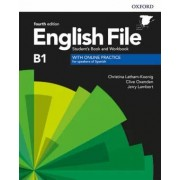 Latham-Koenig, Christina / Oxenden, Clive / Lambert, Jerry English file intermediate pack 4th edition b1. student's book and wor