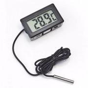 Digital LCD Thermometer Temperature Sensor for Mounted/Aquarium/Refrigerator