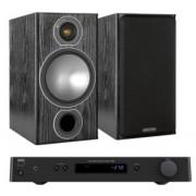Pachete PROMO STEREO - Monitor Audio - Bronze 2 + NAD C 328 Walnut
