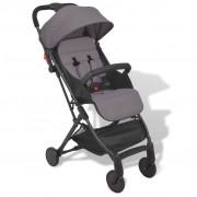 """vidaXL """"vidaXL Szary, kompaktowy wózek spacerowy, 89x47,5x104 cm"""""""