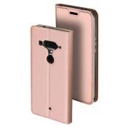 Dux Ducis Skin Pro HTC U12+ Flip Cover - Rose Gold