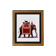 G&C Tavla Elefant röd
