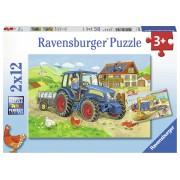 PUZZLE SANTIER, 2X12 PIESE - RAVENSBURGER (RVSPC07616)