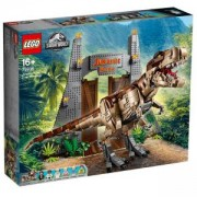 Конструктор Лего Джурасик Свят - Нападение на тиранозавър Рекс - LEGO Jurassic World, 75936
