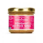Maison Sauveterre Fondant au foie de canard et aux cèpes (20% foie gras) - 3 verrines de 90g