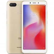 Xiaomi Redmi 6 4G Smartphone Helio P22 3GB RAM 64GB ROM-Dorado