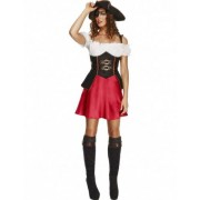 Disfraz pirata sexy mujer S