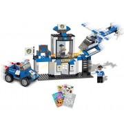 2 Item Bundle: BRICTEK Police Rescue Team 330 pcs Building Blocks (Compatible with Legos) BT-11008 +