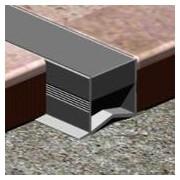 MEC080 - Profil de dilatatie Genesis din PVC 8 mm