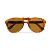 Persol PO0649 Sunglasses Light Havana/Crystal Brown