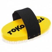 Toko - Base Brush Oval Nylon - Brosse gelb