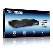 Trendnet TPE-TG160g 16-port GREENnet Gigabit PoE+ Switch (250W)