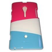 Трицветен калъф за Sony LT28i Xperia ion