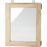 Merkloos Fotolijst beschilderen 14 x 17 cm